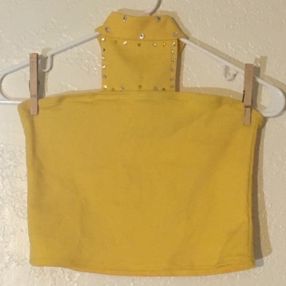 Other - Size Child Large Handmade Dance Costume Yellow Top